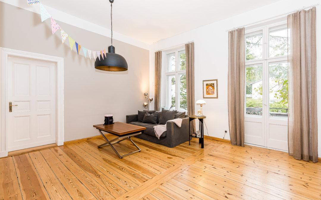 Familienfreundliche Wohnung direkt am Roseneck